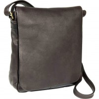 Vertical Flap Over Shoulder Bag