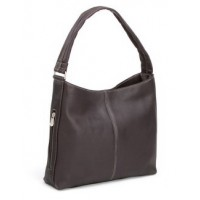 Shoulder Tote with Side Zip Pocket